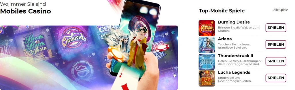 Top Mobile Spiele